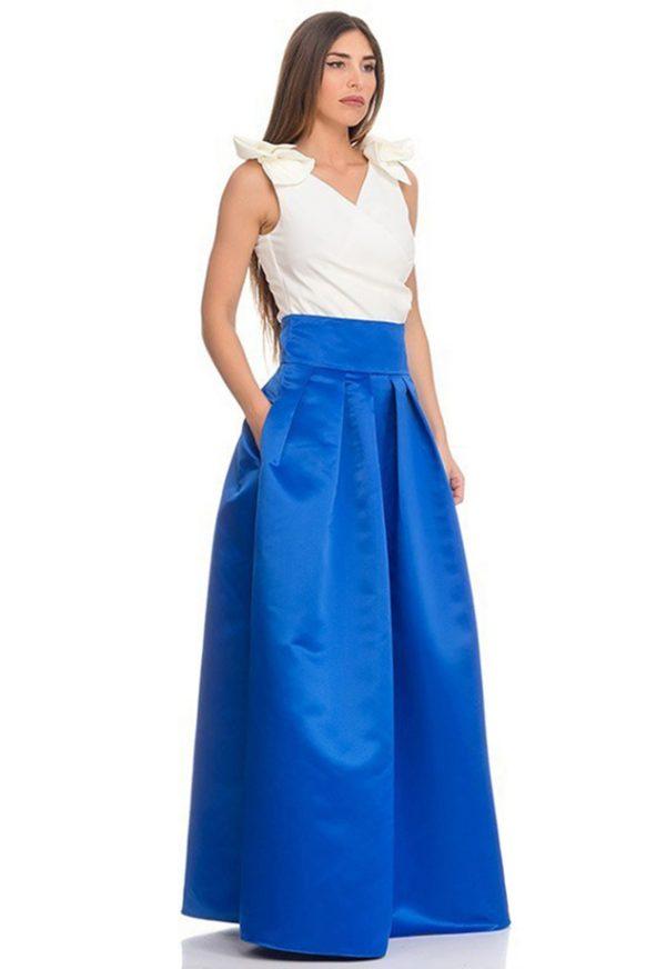 Vestidos de Fiesta Madrid Me pido este Vestido Ari azul F00014 1