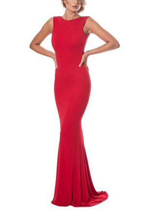 Vestidos de Fiesta baratos Madrid Me pido este Vestido Dina Red F00025 1