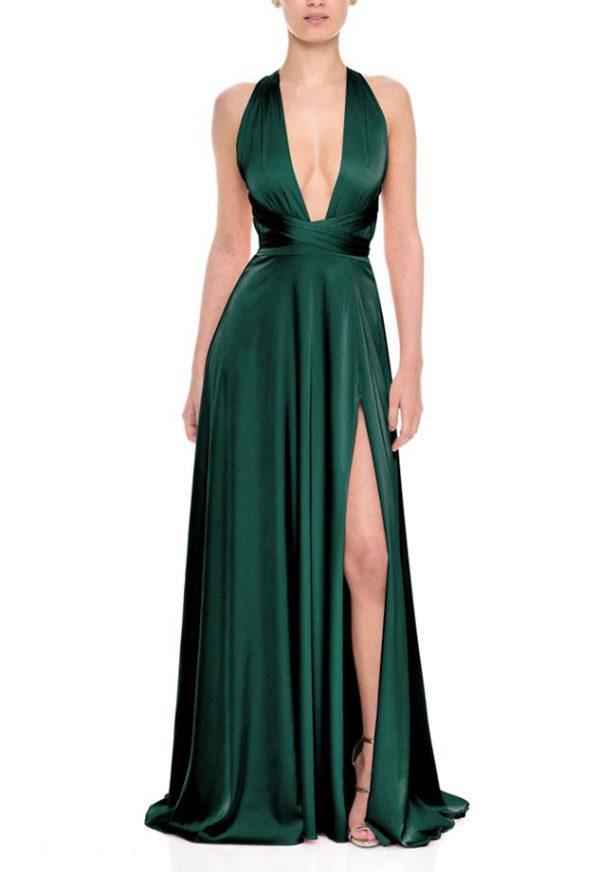 Vestidos de Fiesta baratos Madrid Me pido este Vestido Grazie Emerald F00026 1