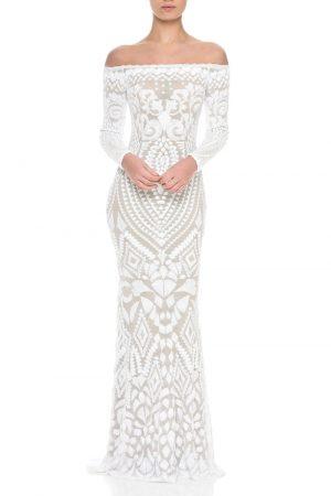 Vestidos de Novia baratos Madrid Me pido este Vestido Arabella White N00026 1