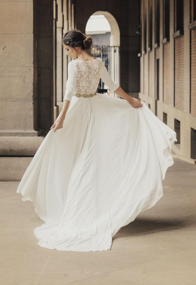 a6d79dd22b Vestidos de Novia baratos Madrid Me pido este Vestido Colección Chameleon