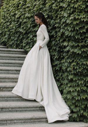 Vestidos de Novia Madrid Me pido este Vestido Colección Nova Caeli | Victoria Imaz > Combinación Body Falda 1 1