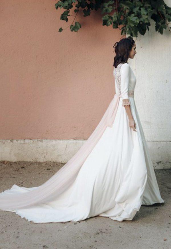 Vestidos de Novia Madrid Me pido este Vestido Coleccion Chameleon | Victoria Imaz > Corte Capa 2 1