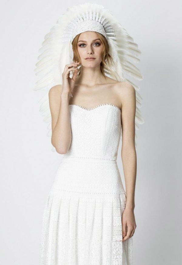 Vestidos de Novia Madrid Me pido este Vestido Brilliant Bronze | Marylise Bridal