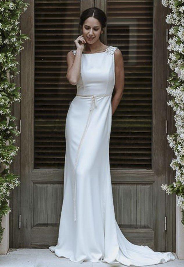 4f8bda21c9 Vestidos de Novia baratos Madrid Me pido este Vestido Colección Nova Caeli 4