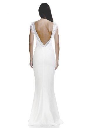 Vestidos de Novia baratos Madrid Me pido este Vestido Alba Vintage 1 N00067 1