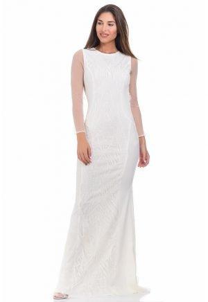 Vestidos de Novia baratos Madrid Me pido este Vestido Alba Vintage 2 N00068 1